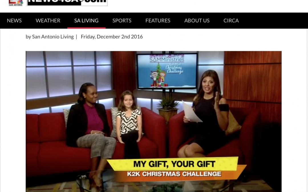 K2K Christmas Challenge