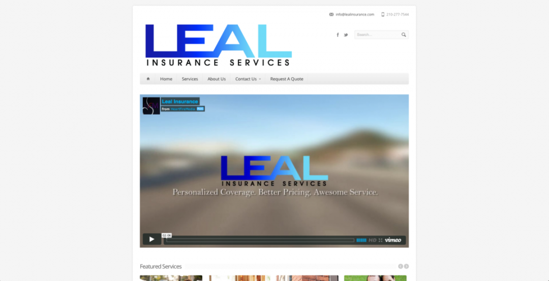 Leal Website