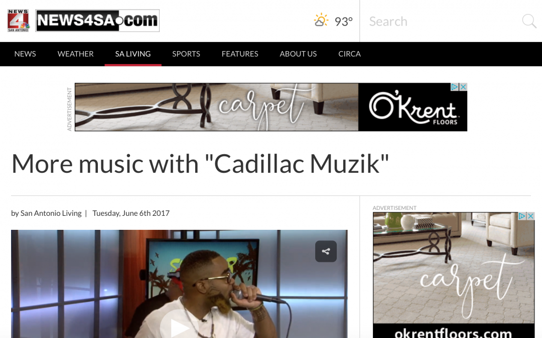 "More music with ""Cadillac Muzik"""