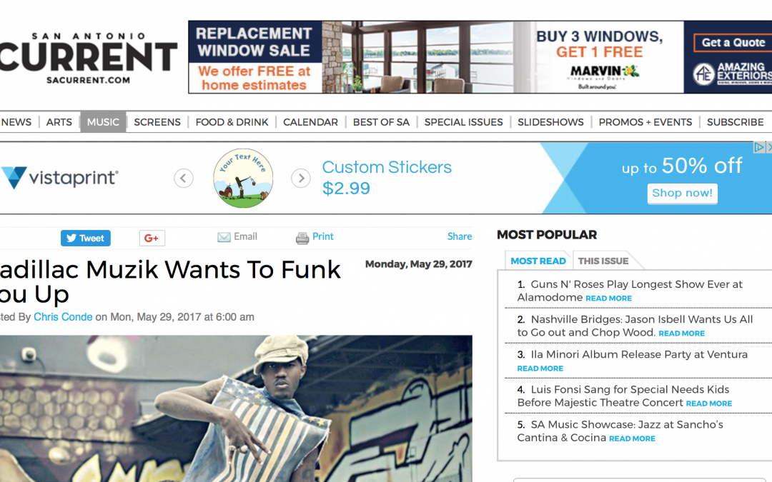 Cadillac Muzik Wants to Funk You Up